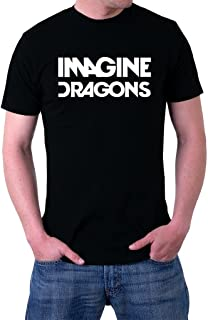 Imagine Dragons Rock Band Logo Men's T-Shirt