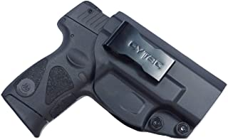 Tactical Scorpion Gear Polymer IWB Concealed Inside Pants Holster: fits Smith & Wesson S&W M&P Shield .40 3.1″, 9mm 3.1″