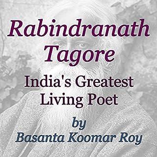 Rabindranath Tagore audiobook cover art