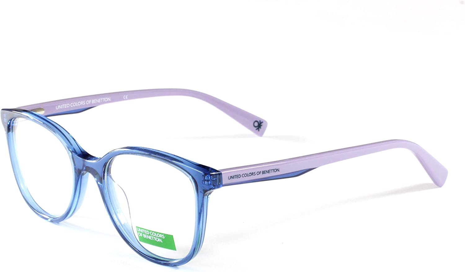 United colors Of Benetton Eyeglasses BEKO2001 609 Navy 4617  Unisex