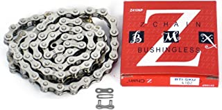 KMC Z410 Bicycle Chain (1-Speed, 1/2 x 1/8-Inch, 112L)