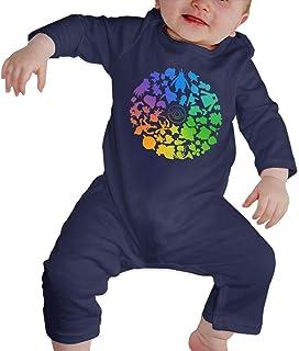 Rasyko Pokémon GO Fest (PoGo) 2019 Chicago Baby Crawler Personnalité Bébé Vêtements d'escalade Barboteuse pour bébé