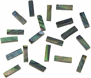 20xDopro H Real Paua Abalone Shell Binding Inlay Purfling Strips for Guitar Mandolin Ukulele Marker 721.5mm