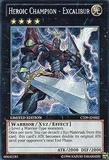 Yu-Gi-Oh!! - Heroic Champion - Excalibur (CT09-EN002) - 2012 Collectors Tins - Limited Edition - Secret Rare
