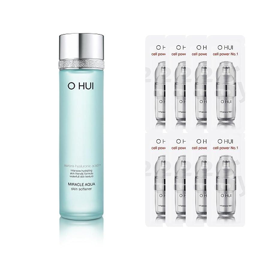 無線ばか宣言OHUI/オフィミラクル アクア スキンソフナー 150ml + 特別の構成 (OHUI MIRACLE AQUA SKIN SOFTENER +Special Gift set)]【スポットセール】[海外直送品]