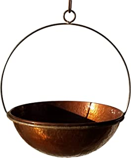 Passage CH14-WOK-14-DHDC Hanging Planter, Hammered Copper