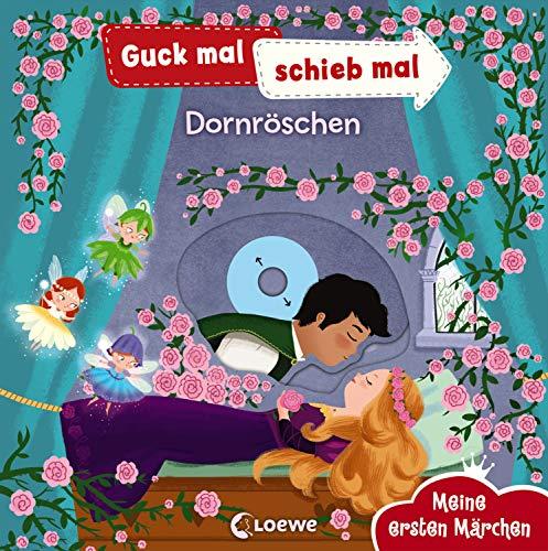 Guck mal, schieb mal! Meine ersten Märchen - Dornröschen: Pappbilderbuch, Buch mit Klappen ab 2 Jahre