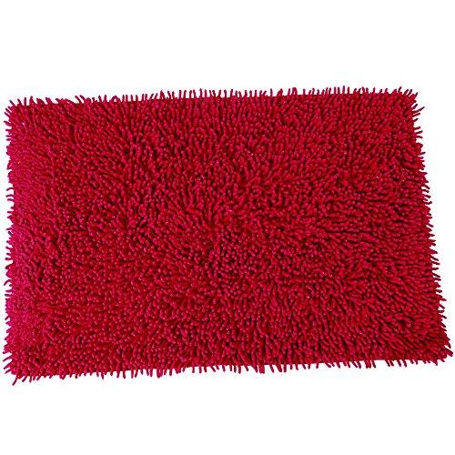 MSV Tapis Coton Rouge Bordeaux 50 x 80 cm, 80 x 150 cm