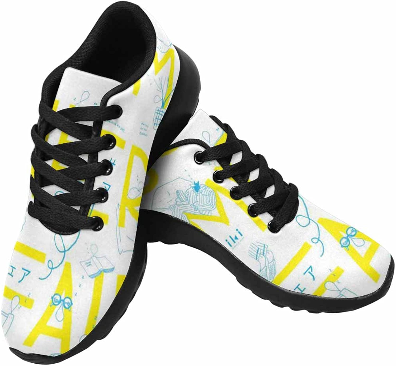 VIC Womens Casual Lightweight Fashion Sneaker Running Sneaker
