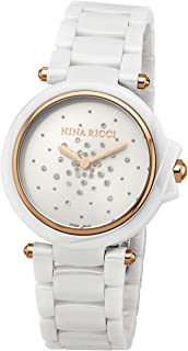 Nina Ricci Rubber Casual Watch For Women, Analog - N Nrd068007