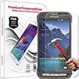 PThink 2.5D Round Edge 0.3mm Ultra Slim Nano Tempered Glass Screen Protector for Samsung Galaxy S5 Active (Not for S5) with 9H Hardness/Anti-scratch/Fingerprint resistant (Samsung Galaxy S5 Active)