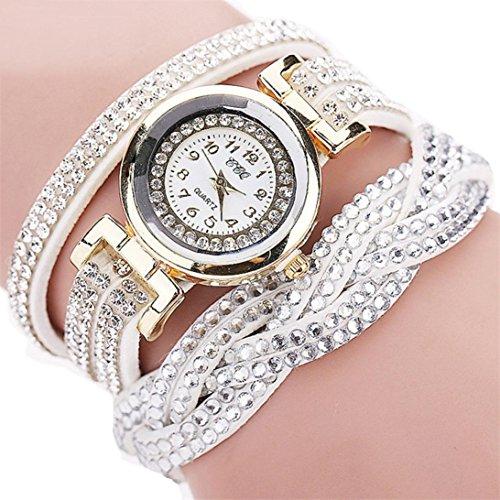 Clearance!!! Women's Wristwatch,Jushye Ladies Girls Watches Bohemian Style Fashion Weave Leather...