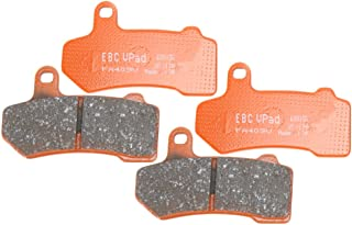 EBC Brakes EBPCK2013 Front Semi-Sintered V-Pads Brake Pad Change Kit