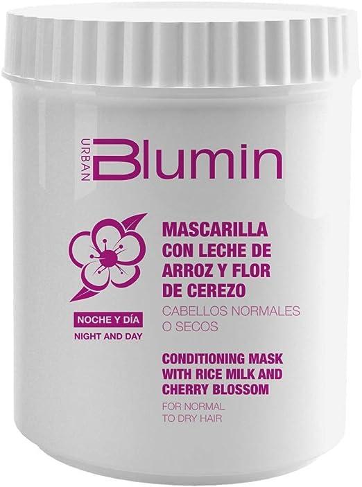 Blumin Mascarilla de Pelo/Mascarilla para el Cabello de Leche de Arroz y Flor de Cerezo, 700 ml