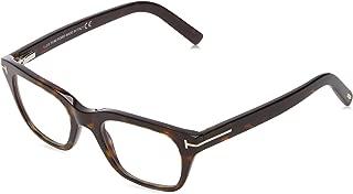 FT 5536-B BLUE BLOCK DARK HAVANA 51/21/145 unisex Eyewear Frame