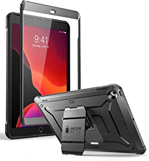 SUPCASE Designed for iPad 10.2 2019 Case,  Unicorn Beetle Pro Series  with Built-in Screen Protector and Dual Layer Full Body Rugged Protective Case (Black)