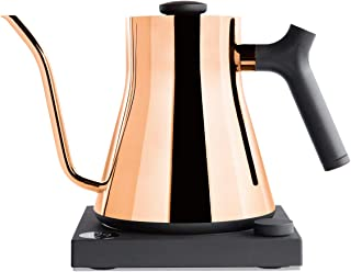 Stagg EKG Electric Pour-Over Kettle For Coffee And Tea, Polished Copper, Variable..
