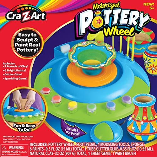 Cra-Z-Art Children's Motorized Pottery Wheel Activity Set