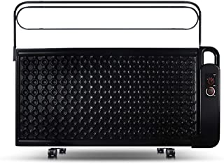 Black Radiator Heater, 24H Intelligent Constant Temperature Energy Saving Mute Oil Space Heater, With Drying Rack Humidifi...