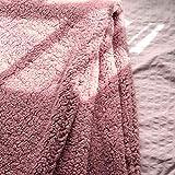 Manta Sofa Borreguito - Mantas de Invierno para Sofa, Manta Invierno Borrego, Mantas Cama , Manta Polar Borrego, Manta Cama Invierno, Mantas de Pelo Borreguito, Manta Suave, (Violeta, 130 x 170 cm)