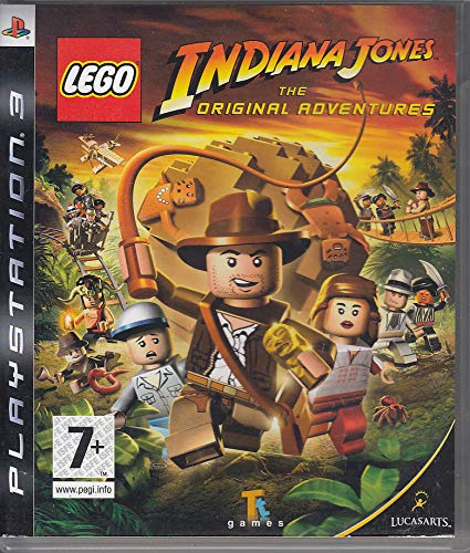 Lego Indiana Jones The Original Adventures Ps2 Ver. Reino U