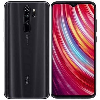 Xiaomi Redmi Note 8 Pro Smartphone desbloqueado de fábrica 128GB, 6GB RAM 6.53 pulgadas LTE GSM 64MP - Modelo global, Gris mineral, 128GB + 64GB SD + Case Bundle