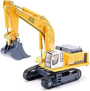 Kdw 1/87Scale Diecast Mini Crawler Excavator Construction Vehiclesモデル
