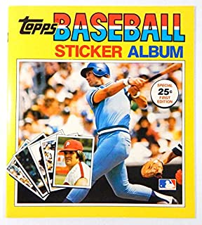 1981 Topps Baseball Sticker Album (32 Page) - No Stickers