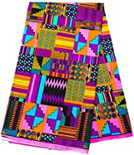 pink kente cloth
