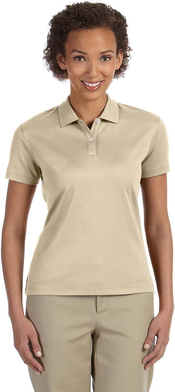D & Jones Women's Shawl Collar Cardigan Shell Short Sleeve Polo T-Shirt