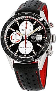 Tag Heuer Carrera Chronograph Automatic Black Dial Mens Watch CV201AP.FC6429