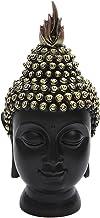Generic Buddha Head Figurine Sculpture Statue Home Office Desktop 9.5x9.5x20cm