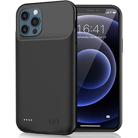 7000mAh Portable Protective Charging Case Compatible with iPhone 12 Pro 6.1 inch Battery Case for iPhone 12 Pro Blue Rechargeable Extended Battery Charger Case