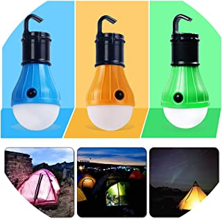 Waterproof Portable Flashlights Tent Lamp Led Bulb Emergency Night Light Camping Lantern For Camping Outdoor,Red