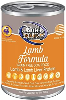 Nutrisource Grain Free Canned Lamb Ounce