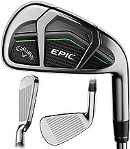 Callaway 2017 Epic Iron Sets, 4-PW,AW, Steel, 5.5 (Renewed)