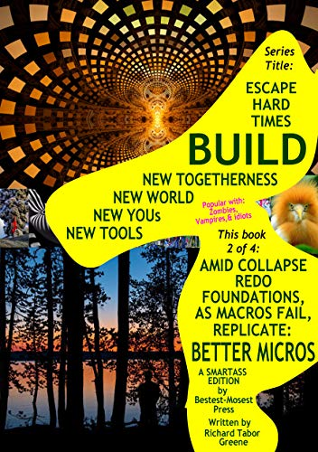 AMID COLLAPSE REDO FOUNDATIONS, AS MACROS FAIL, REPLICATE BETTER MICROS: 2 of 4 in subseries Not History Makes You, You Make It; of series Escape Hard ... World, Yous, Tools; (English Edition)