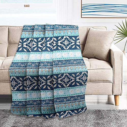 NEWLAKE Quilted Throw Blanket for Bed Couch Sofa, Boho Chic...