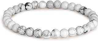 6MM Unisex Natural Semi-Precious Beaded Stone Stretch Bracelet - Multiple Sizes & Colors!