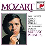 Mozart: Concertos No. 11, 12 & 14 for Piano and Orchestra by Murray Perahia (1990-10-25)