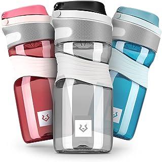 Alphatrail Botella Agua Tritan Cody 450ml 100% Prueba de Fugas I sin BPA & Ecológicamente I Seguro Lavavajillas I para una...