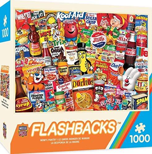 MasterPieces Flashbacks Linen Jigsaw Puzzle, Mom's Pantry, 1000 Pieces -  MasterPieces PuzzleCompany, 71833
