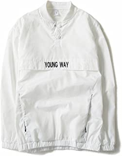 Chiffoned New Reflective Windbreaker Jacket Men Autumn Tide Brand Off White Jacket Chaqueta Hombre