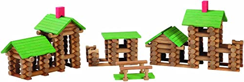 TumbleTree Timbers 300 Piece Set in Storage Tube by Tumble Tree Timbers