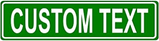 Best Granite City Graphics Custom Green 6x24 Aluminum Road Sign with Lettering On One Side Review