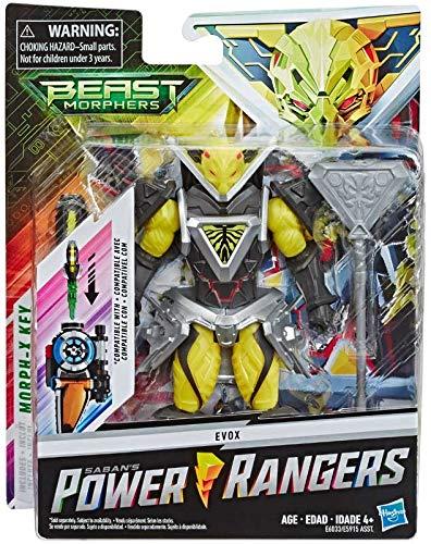 Power Rangers Beast Morphers Evox, 15 cm große Actionfigur zur TV-Serie, für Kinder ab 4 Jahren