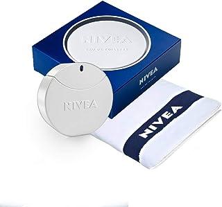 NIVEA Eau de Toilette Aroma de Cuidado en Frasco y Lata NIVEA 1 x 30 ml y Toalla NIVEA incluida