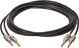 Amazon Basics Lautsprecher Kabel mit Gold beschichteten Bananensteckern   CL2   99,9% Sauerstoff frei, 1,8 m
