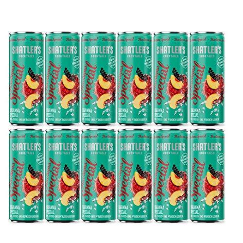 Shatler´s Cocktail Paket Havanna Special Aludose (12x0,25l) incl. 3EUR Dosenpfand