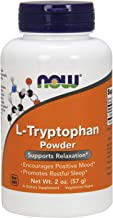NOW Supplements, L-Tryptophan Powder, Free-Form, Supports Relaxation*, Amino Acid, 2-Ounce